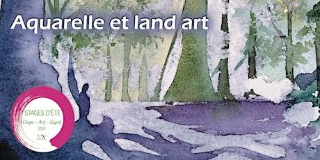Stage d'été : Aquarelle et land art billets