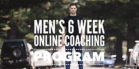 Unshakeable You 6 week men's group coaching program tickets