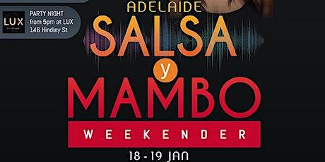 Adelaide Salsa y Mambo weekender 2020 tickets