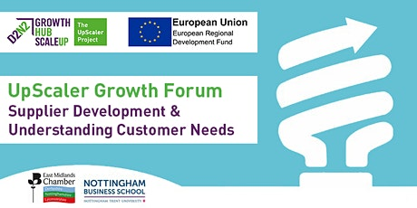 UpScaler Growth Forum - Supplier Development & Understanding Customer Needs tickets