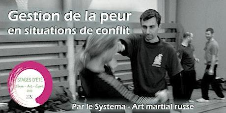 Stage d'été : Gestion de la peur en situations de conflit - par le Systema, art martial russe billets