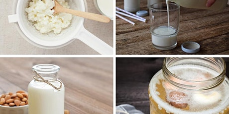 Learn how to make your own dairy and vegan kefir and yoghurt tickets