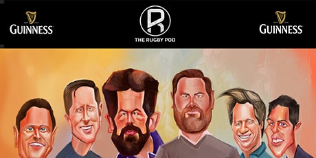 The Rugby Pod - Guinness Six Nations Special - Dublin tickets