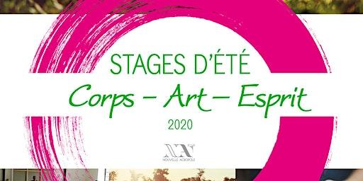 Stage d'été : Corps Art Esprit