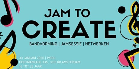 Jam To Create tickets
