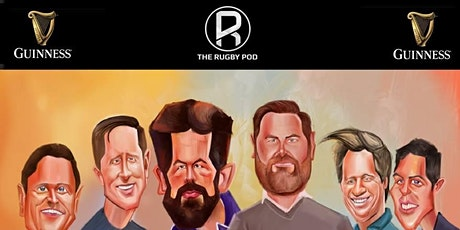 The Rugby Pod - Guinness Six Nations Special - London tickets