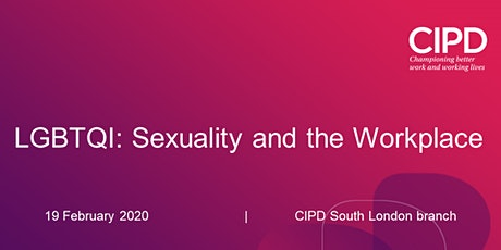 LGBTQI: Sexuality and the Workplace tickets