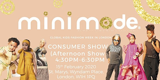 Mini Mode Global Kids Fashion Week SS20 | Consumer Show (Afternoon Show)