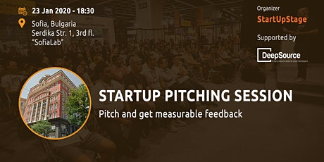 Startup Pitching Session tickets