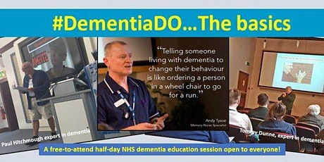 #DementiaDo The Basics tickets