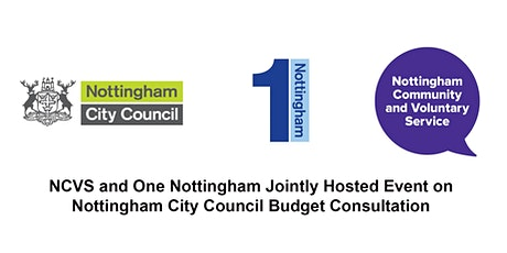 Nottingham City Council Budget Consultation 2020-2021 tickets