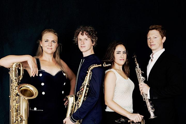 Afbeelding van Cultbee Nieuwjaarsconcert Berlage Saxofoon Kwartet