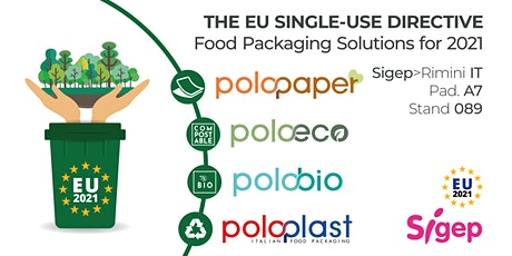 The EU Single-Use Directive - Food Packaging Solutions for 2021 biglietti