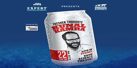 Fresher Thoughts by Kunal Kamra in Sydney tickets