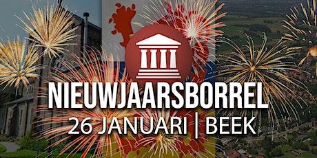 Nieuwjaarsborrel FVD Limburg tickets