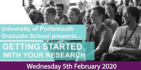 The Graduate School- Getting started with your Research: Postgraduate Research Student Induction tickets