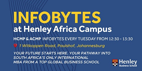 Higher & Advanced Certificates - InfoByte | #HenleyAfrica tickets