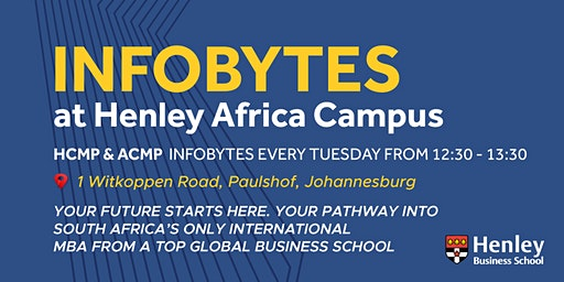 Higher & Advanced Certificates - InfoByte | #HenleyAfrica