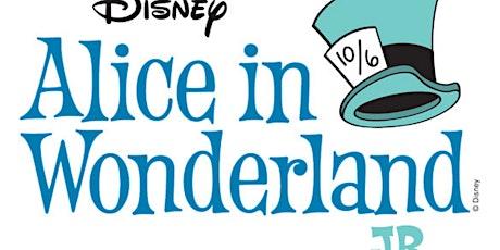 Alice in Wonderland JR tickets