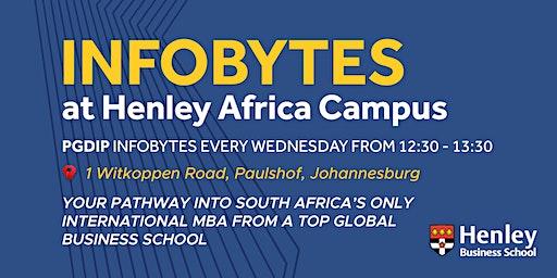 Postgraduate Diploma - InfoByte | #HenleyAfrica