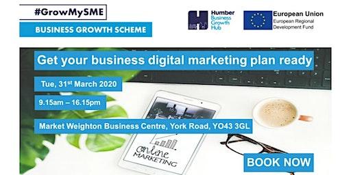 Get Your Business Digital Marketing Plan Ready