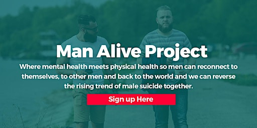 The Man Alive Project: Step Forward for Mental Health