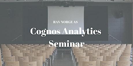 Cognos Analytics Seminar tickets
