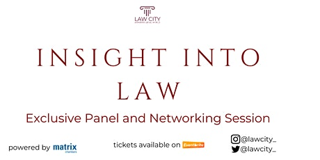 Insight Into Law tickets