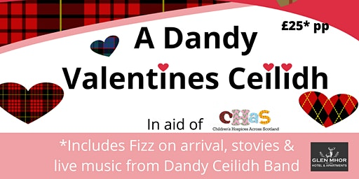 A Dandy Valentines Ceilidh for CHAS