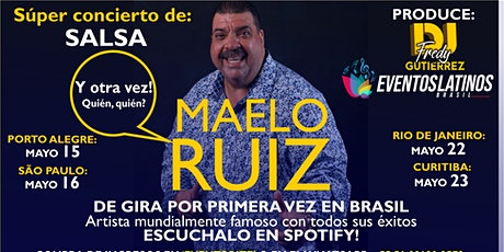 Concierto de Salsa Maelo Ruiz, Porto Alegre (Gira/Turnê) ingressos