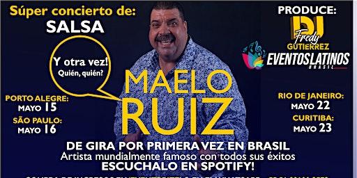 Concierto de Salsa Maelo Ruiz, Porto Alegre (Gira/Turnê)