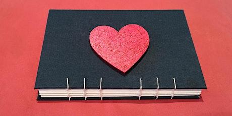 Valentine Coptic Book Binding tickets