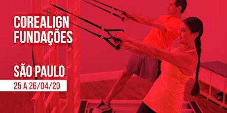 Formação em CoreAlign - Módulo Fundações - Physio Pilates Balanced Body - São Paulo ingressos