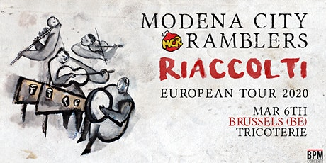 Modena City Ramblers - Riaccolti European Tour 2020 tickets