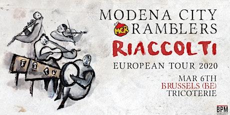 Modena City Ramblers - Riaccolti European Tour 2020 billets