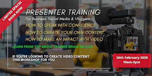 Presenting Workshop For Business, Social Media & Vloggers