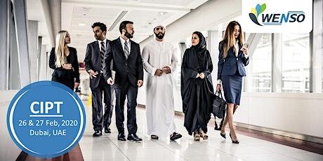 IAPP CERTIFIED INFORMATION PRIVACY TECHNOLOGIST (CIPT) - DUBAI tickets