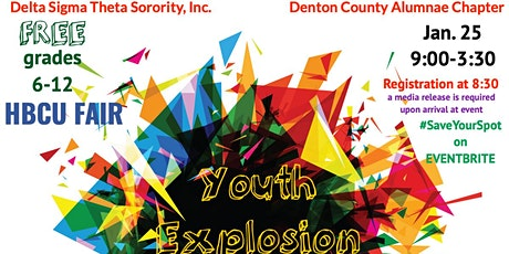 Youth Explosion & HBCU Fair tickets