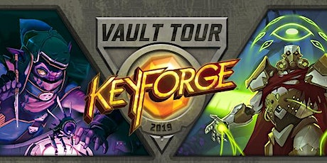 Vault Tour KeyForge France 2020 billets