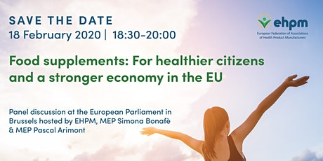 Food supplements: For healthier citizens and a stronger economy in the EU entradas