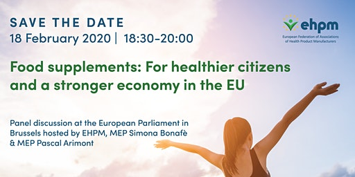 Food supplements: For healthier citizens and a stronger economy in the EU