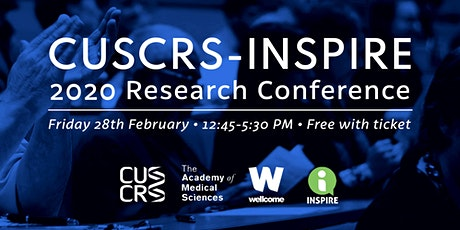CUSCRS-INSPIRE Conference 2020 tickets