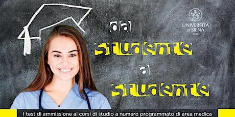 Da studente a studente. Simulazione prova accesso Medicina biglietti