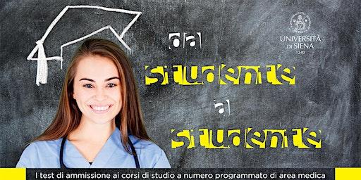 Da studente a studente. Simulazione prova accesso Medicina