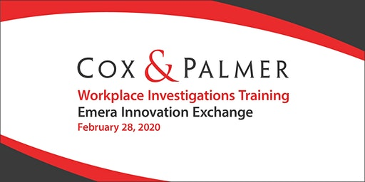 Workplace Investigations Training - St. John's, 2020
