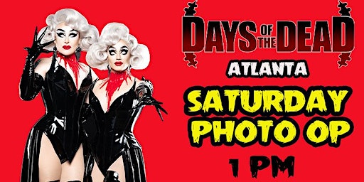 Days of the Dead Boulet Brothers Photo Op - Saturday