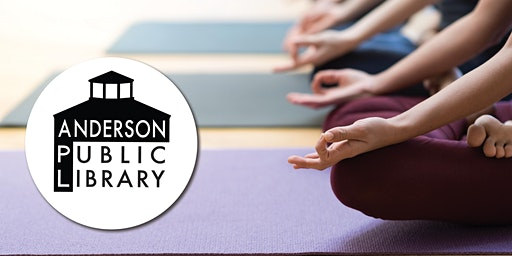 Mommy and Me Yoga at the Anderson Public Library