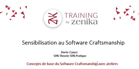 Formation :Sensibilisation au Software Craftsmanship_FR_2 Jrs tickets