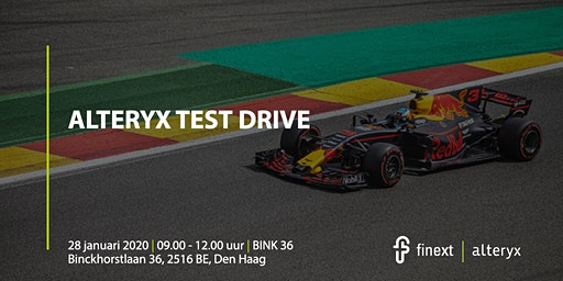 Alteryx Test Drive