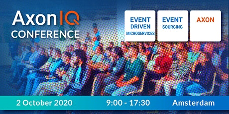 Event-driven Microservices Conference 2020 by AxonIQ tickets